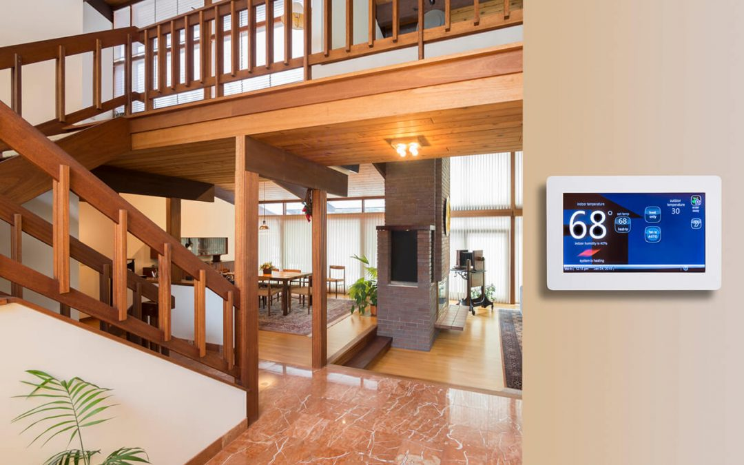 a programmable thermostat is one of the features for your new home