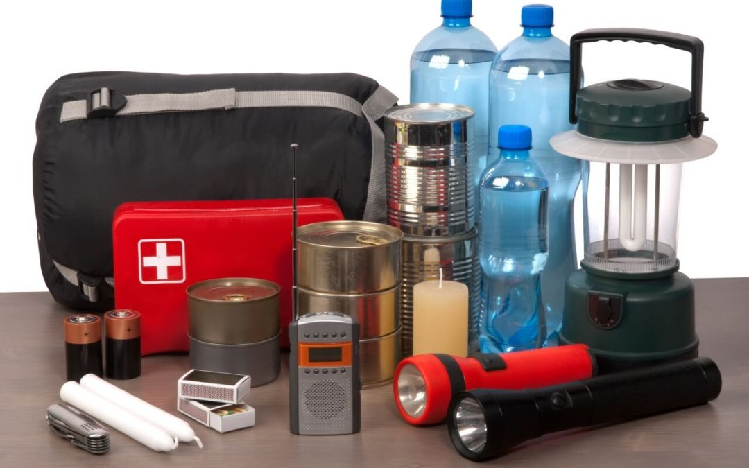 safety essentials for the home include a stocked disaster kit